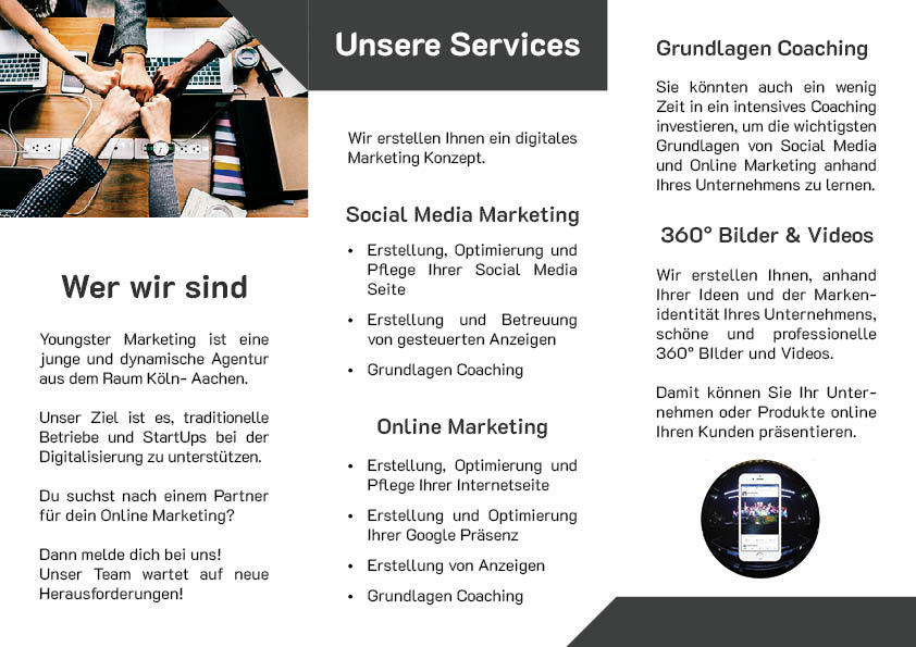 Youngster Marketing Flyer Seite 2